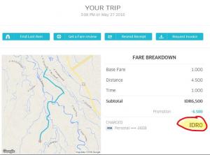 UberMotor Tarif 0