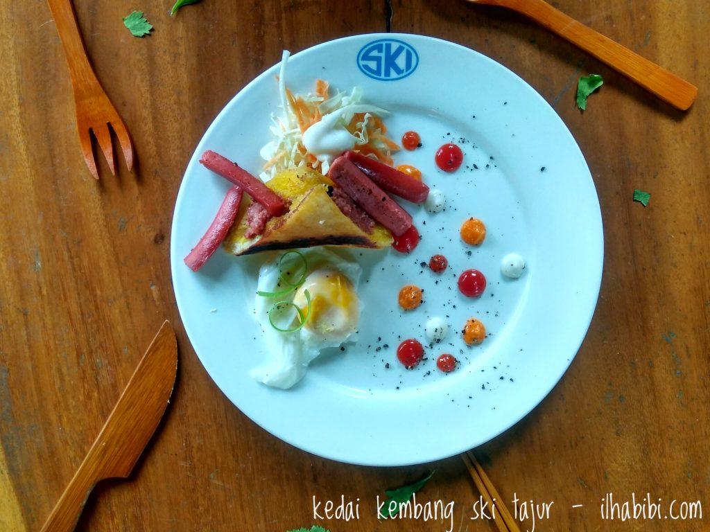 Deconstructed Roti John ala Kedai Kembang