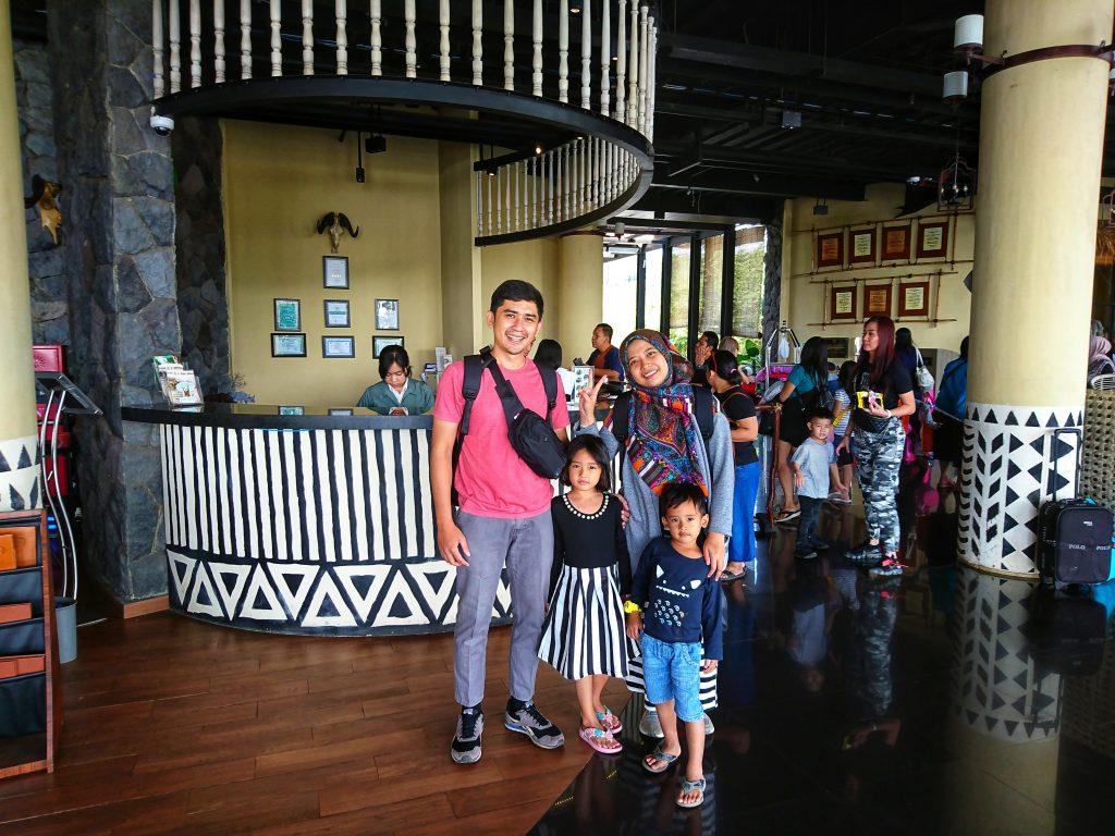 Suasana Lobby Hotel Baobab Safari Resort